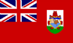 Bermuda Large Country Flag - 3' x 2'.